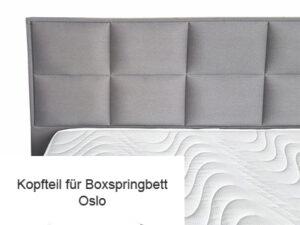 Kopfteil für Boxspringbett Oslo